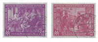 Duitsland DDR 1950 - Michel 248-249 - Gebruikt
