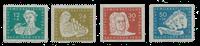 République Démocratique Allemande 1950 - Michel 256-259 - Neuf
