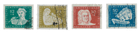 DDR 1950 - Michel 256-259 - Stemplet