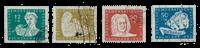 République Démocratique Allemande 1950 - Michel 256-259 - Oblitéré