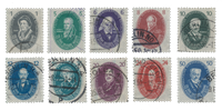 German Democratic Republic 1950 - Michel 261-270 -  Cancelled