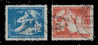 Duitsland DDR 1950 - Michel 273-274 - Gebruikt