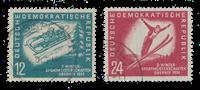 Duitsland DDR 1951 - Michel 280-281 - Gebruikt