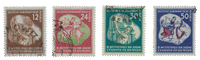 DDR 1951 - Michel 289-292 - Stemplet