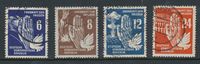 German Democratic Republic 1950 - Michel 276-279 -  Cancelled