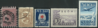 Finlande - Collection - 1866-1979