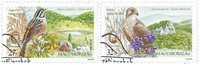 Hongrie - Oiseaux, Europa 1999 - Série obl. 2v