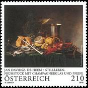Oostenrijk - Schilderij De Heem - Postfrisse postzegel