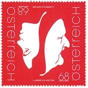 诺菲集邮,奥地利新邮,双面人 - 新票
