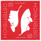 Austraia - Two faces - Mint stamp