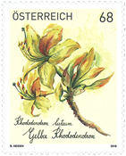 Østrig - Rhododendron - Postfrisk frimærke