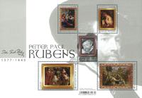 Belgien - Rubens - Postfrisk miniark