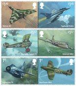外国邮票 英国邮票 2018 新邮 RAF 英国皇家空军100周年纪念邮票 - 新票套票6枚