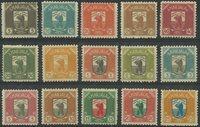 Karelen - 1922 postfrisk sæt