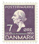 Danmark - AFA 224 - Stålstik