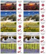 Belgien - Landskaber - Postfrisk sæt 10v