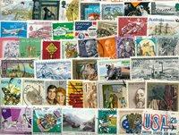 Francobolli mondiali - lotto di circa 420 doppi