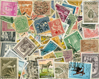 Paesi d'Oltremare - lotto di circa 190 doppi