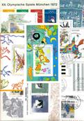 West Germany - Duplicate lot souvenir sheets