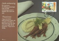 Åland 2002 - LAPE nr. A40 - Fødevarer