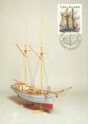 Åland 1988 - LAPE nr. A3 - Sejlskibe