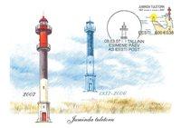 Estland 2007 - Maximum kort - LAPE nr. 60 - De fyrtårne ??i Kiminda