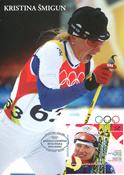 Estland 2006 - Maximum kort - LAPE nr. 51 - Olympisk vinder