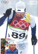 Estland 2006 - Maximum kort - LAPE nr. 52 - Olympisk vinder