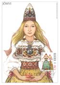 Estland 2004 - Maksimal kort - LAPE nr. 44 - Nationale kostumer
