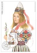 Estland 2004 - Maksimal kort - LAPE nr. 43 - Nationale kostumer