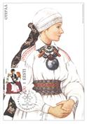 Estland 2003 - Maksimal kort - LAPE nr. 38 - Nationale kostumer