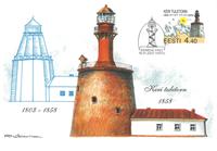 Estland 2003 - Maksimal kort - LAPE nr. 36 - Fyret  af Ker