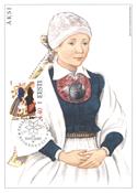 Estland 2003 - Maksimal kort - LAPE nr. 37 - Nationale kostumer
