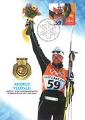 Estland 2002 - Maksimal kort - LAPE nr. 33 - Andrus Veerpalu