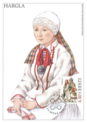 Estland 1999 - Maksimal kort - LAPE nr. 27 - Nationale kostumer