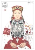 Estland 1999 - Maksimal kort - LAPE nr. 26 - Nationale kostumer
