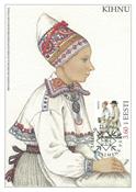 Estland 1998 - Maksimal kort - LAPE nr. 24 - Nationale kostumer