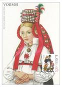 Estland 1997 - Maximum card - LAPE nr. 22 - Nationaldragter
