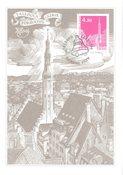 Estonie - 1996 - Carte maximum - LAPE no. 20