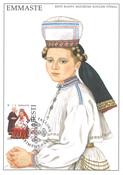 Estland 1996 - Maksimal kort - LAPE nr. 17 - Nationale kostumer