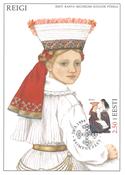 Estland 1996 - Maximum card - LAPE nr. 18 - Nationaldragter