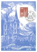 Estonie - 1995 - Carte maximum - LAPE no. 15