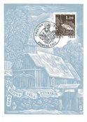 Estonie - 1994 - Carte maximum - LAPE no. 12