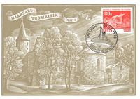 Estland 1993 - Maximum card - LAPE nr. 3 - Jul