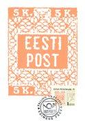 Estonia 1993 - Cartolina Maximum  - LAPE nr. 1