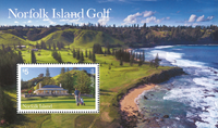 Norfolk Islands - Golf - Postfrisk miniark