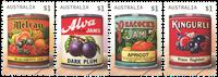 Australie - Etiquettes de confiture - Série neuve 4v