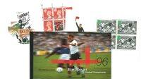 England - Fodbold EM 1996 - Flot prestigehæfte med bl.a. John Faxe