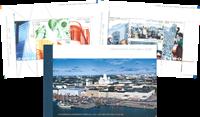 Finland - Helsinki 2000 musik og arkitektur - Flot frimærkehæfte