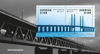 Suède - Le pont d'Øresund - Bloc-feuillet neuf